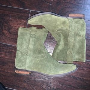 Vince Camuto Green Booties (Boots)- Green